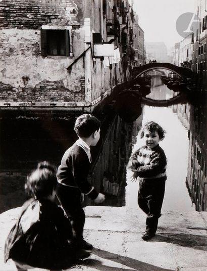 Paolo Monti (1908-1982) Venezia, 1960. Épreuve...