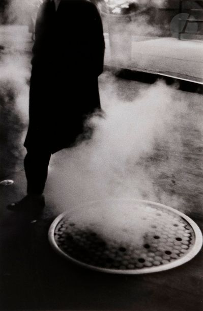 Louis Stettner (1922-2016) Man Hole Cover....