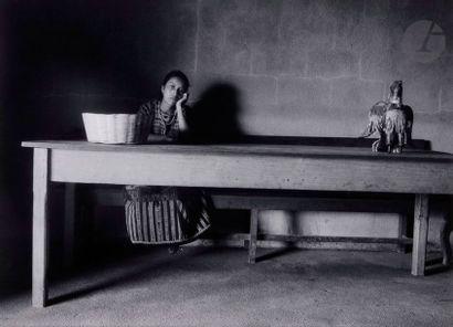 Flor Garduño (1957) Guatemala, 1989. La dueña...