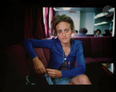 Nan Goldin (1953) Rebecca on the ferry to...