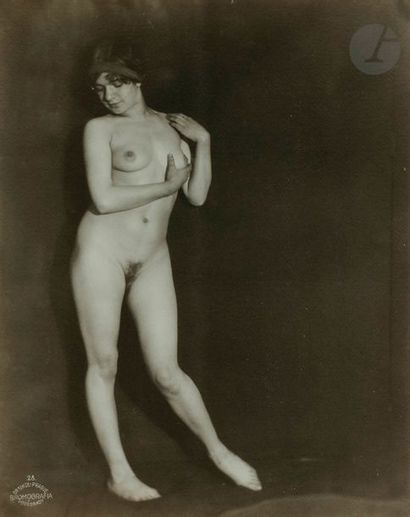 Frantisek Drtikol (1883-1961) Nu féminin,...