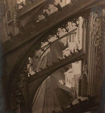 Josef Sudek (1896-1976) Cathédrale Saint-Vitus,...