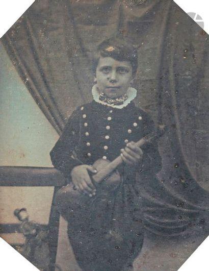 Daguerréotypiste non identifié Auguste et...