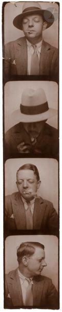 Marcel Duhamel (1900-1977) Autoportrait les...