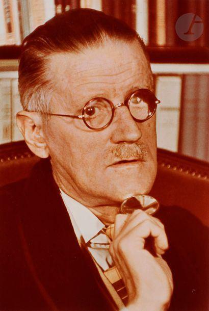Gisèle Freund (1908-2000) James Joyce. Paris,...