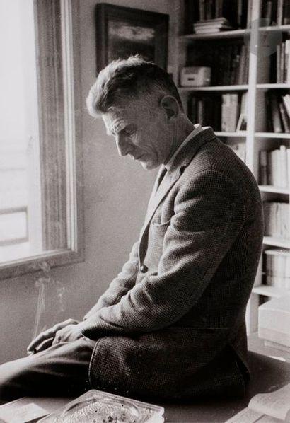Gisèle Freund (1908-2000) Samuel Beckett....