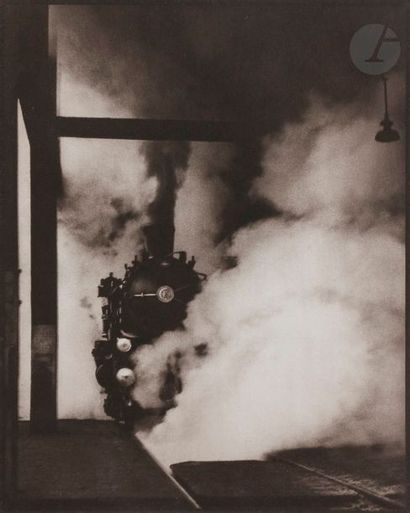 René Groebli (1927) Rail Magic, 1949. Héliogravure...