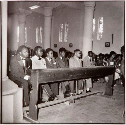 Malick Sidibé (1936-2016) Mariage à l'église,...