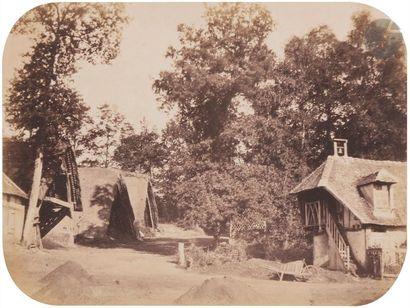 É?douard d'Urban Forges, septembre 1854. La Simistrie. Fermes. Rues. 17 épreuves...