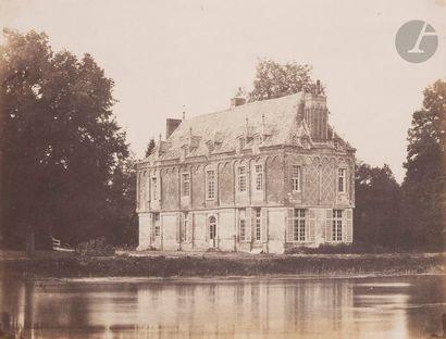 Roger du Manoir (1827-1888) Cha?teau d'Heudreville (Eure), juillet 1853. Épreuve...