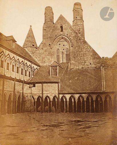 Photographe non identifié Le Cloître de l'abbaye...