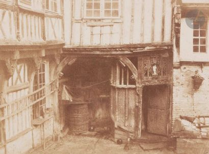 Charles Marville (Paris 1813-1879) Abbeville,...