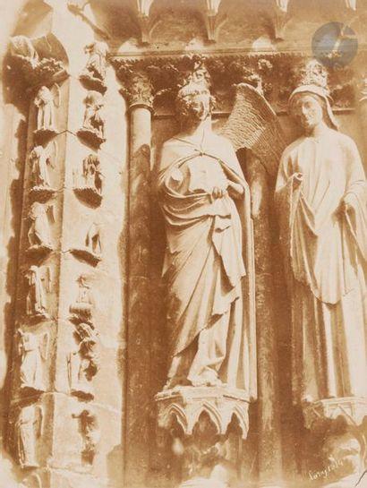 Edme Lory Reims, 1854-1858. Cathédrale de...