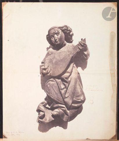 Auguste Salzmann (1824-1872) Abbaye d'Issenheim,...