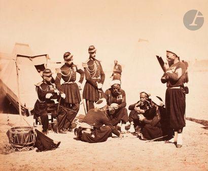 Gustave Le Gray (1820-1884) Camp de Cha?lons,...