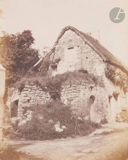 Photographe non identifié Chaumière, c. 1855....