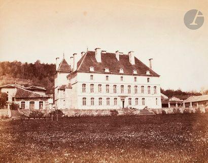 Auguste Violin (1816-1878) Château, c. 1855....