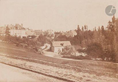 Alphonse Fortier (1825-1882) Village, c....