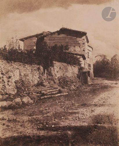 André Giroux (1801-1879) Maison à la croix...