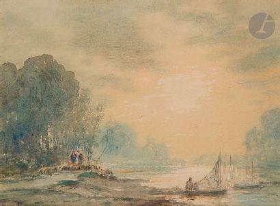 Henri Louis Foreau (1866 - 1938) Paysage...