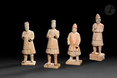CHINE - Époque MING (1368 - 1644) Quatre...