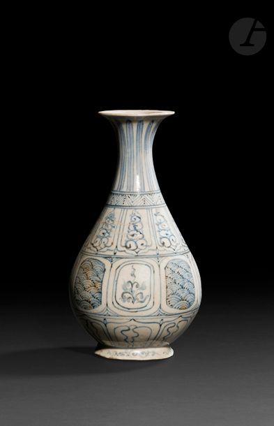 VIETNAM, XVe/XVIe siècle Vase de forme «...