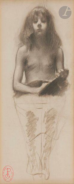 Georges PICARD (1857 - 1946)  Deux études...