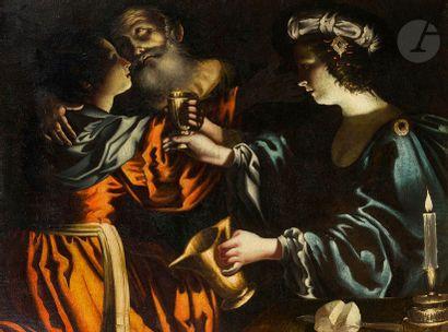 Attribué à Rutilio MANETTI (1571 - 1639) Loth...