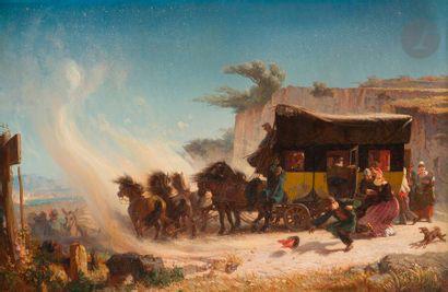 École FRANçAISE du XIXe siècle, 1845, F....