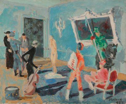 Pierre émile Gabriel LELONG (1908 - 1984) Au...