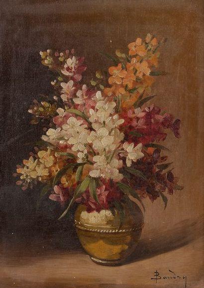 Paul BAUDRY (1828-1886) Nature morte Deux...