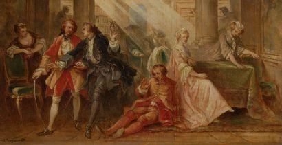 Théophile FRAGONARD (Paris 1806-Neuilly-sur-Seine...