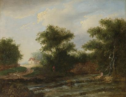 Attribué à Peter NASMYTH dit Patrick (1787-1831)...