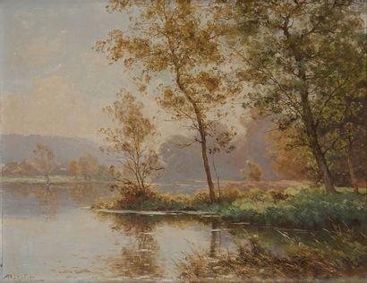 Albert-Gabriel RIGOLOT (1862-1932) Paysage...