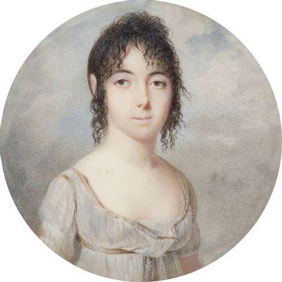 Attribué à LÉGER (actif en 1795-1797) Très...
