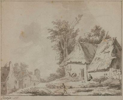 Jean-Philippe SARAZIN (c.1736-c.1795) Vue...