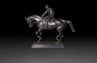 Isidore BONHEUR (1827-1901) Jockey Bronze...