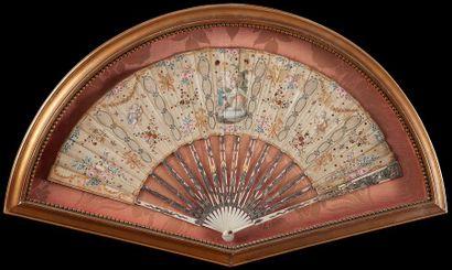 Serment d'amour, vers 1770-1780 Éventail...