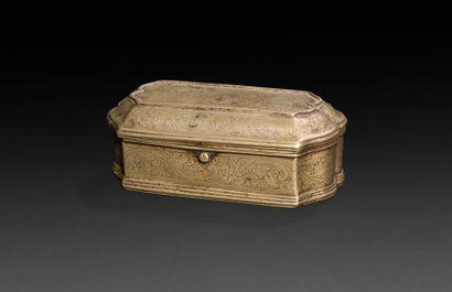 France, XVIIIe siècle Boîte à racines en...