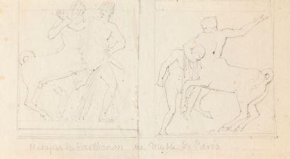 Attribué à François GÉRARD, dit Baron GÉRARD (1770-1837) Vierge à l'Enfant Crayon...
