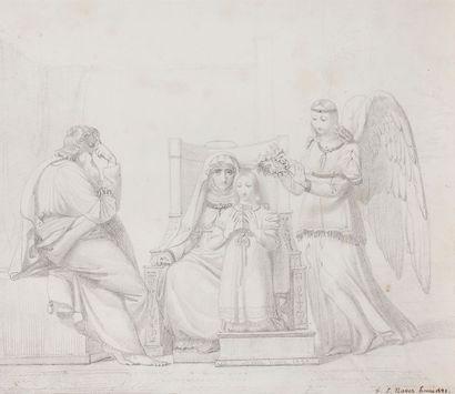 François-Joseph NAVEZ L'Éducation de la Vierge,...