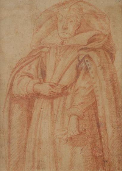 École FLORENTINE du XVIIe siècle Portrait...