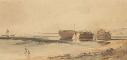 François Thomas FRANCIA (Calais 1772-1839)...