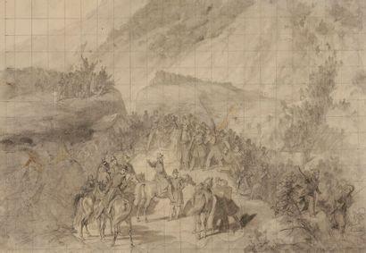 Émile-Jean-Horace VERNET (1789-1863) La Prise...
