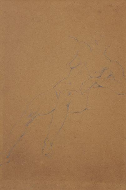 École FRANÇAISE du XIXe siècle Femme nue...