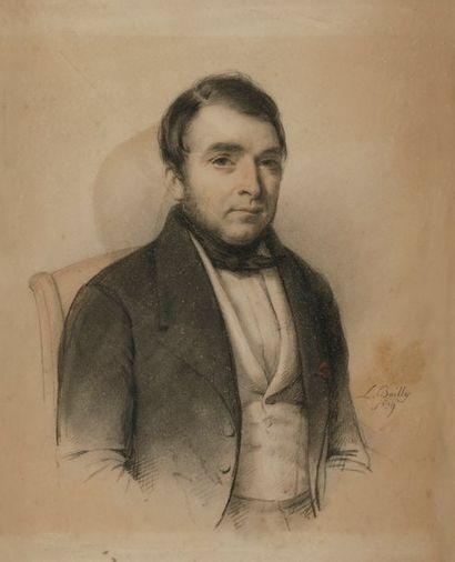 Attribué à Jules BOILLY (1796-1874) Portrait...