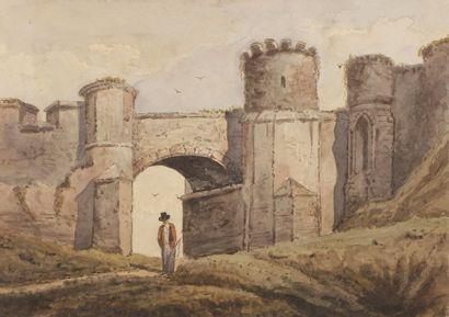 Louis BENOIS (1796-1873) Temple de la Fortune,...