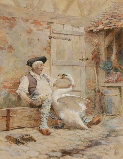 Maurice LELOIR (1853-1940) Les Derniers moments...