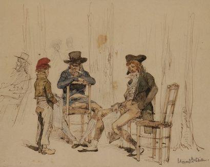 Édouard-Jean-Baptiste DETAILLE (1848-1912)...