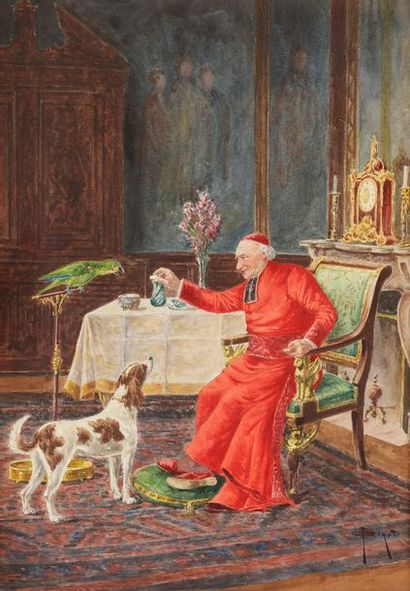 François Joseph GIROT (1873-1916) Son excellence...